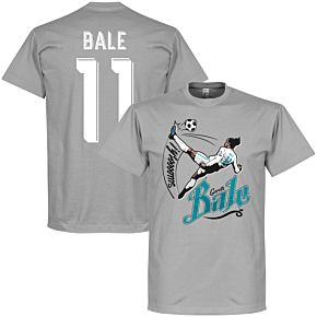 Bale 11 Bicycle Kick Tee - Grey