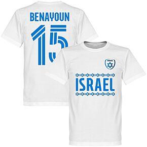 Israel Benayoun Team Tee - White
