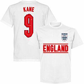 England Kane 9 Team T-shirt - White