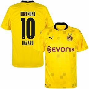 20-21 Borussia Dortmund Cup Shirt + Hazard 10 (Official Printing