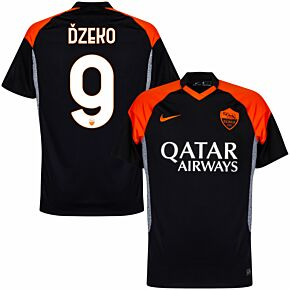 20-21 AS Roma 3rd Shirt + Dzeko 9
