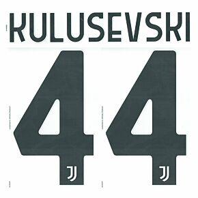 Kulusevski 44 - 20-21 Juventus Home Official