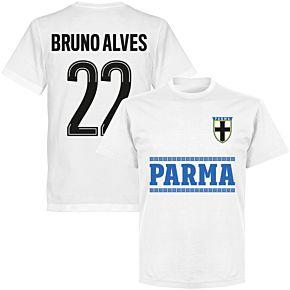 Parma Bruno Alves 22 Team T-shirt - White