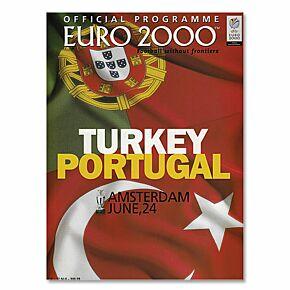 Turkey vs Portugal European Championships in Amsterdam - June 24, 2000