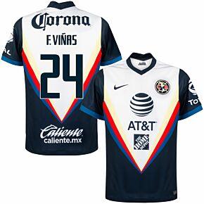 20-21 Club America Away Shirt + E. Vinas 24 (Fan Style)