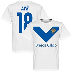 Brescia Aye 18 Team Tee - White