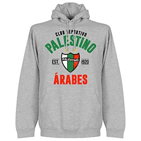 Palestino Established Hoodie - Grey
