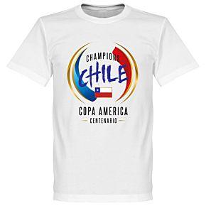 Chili COPA America Centenario Winners Tee - White