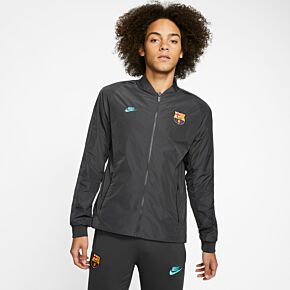Nike Barcelona NSW Reversible Jacket - Grey/Sky 2019-2020