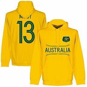 Australia Mooy 13 Team Hoodie - Gold