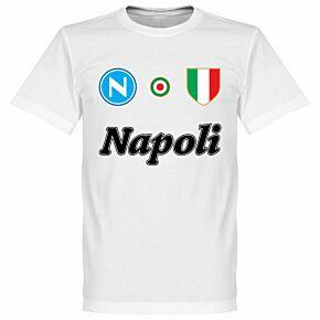 Napoli Team KIDS T-Shirt - White
