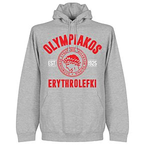 Olympiakos Established Hoodie - Grey