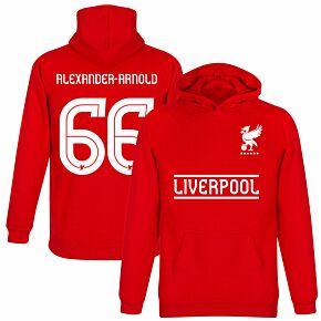 Liverpool Alexander-Arnold 66 Team KIDS Hoodie - Red