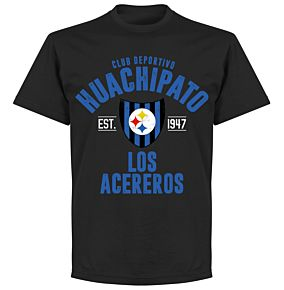 Huachipato Established T-Shirt - Black