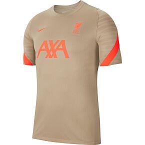 21-22 Liverpool Dri-Fit Strike Training Shirt - Mystic Stone