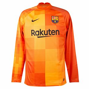 21-22 Barcelona Home L/S GK Shirt
