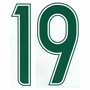 06-07 Australia Home Official Numbers (Front Number Only)