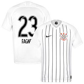 Nike Corinthians Home Fagner 23 Jersey 2019-2020 (Fan Style Printing)
