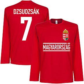 Hungary Dzsudzsak Team L/S Tee - Red