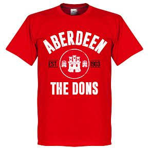 Aberdeen Established Tee - Red