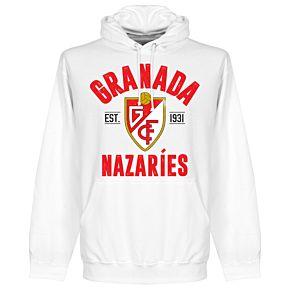 Granada Established Hoodie - White