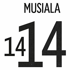 Musiala 14 (Official Printing) 20-21 Germany Home