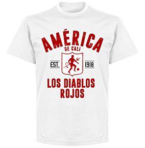 America de Cali EstablishedT-Shirt - White