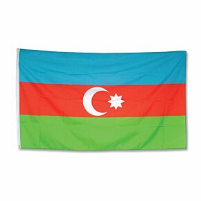 Azerbaijan Large Flag 3ft x 5ft