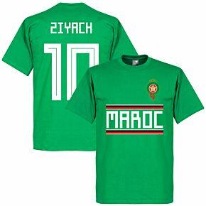 Morocco Ziyach 10 Team Tee - Green