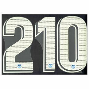 21-22 Barcelona Home Official La Liga Numbers (270mm)