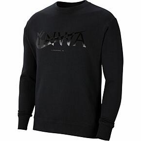 21-22 Liverpool NSW Club Crew Sweatshirt - Black