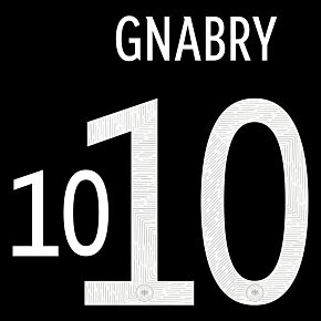 Gnabry 10 (Official Printing) 20-21 Germany Away