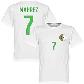 Algeria Mahrez Crest Tee - White