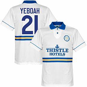1994 Leeds United Home Retro Shirt + Yeboah 21