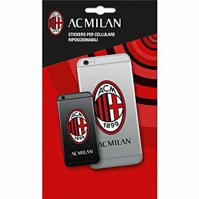 AC Milan Phone Stickers (4 in Pack)