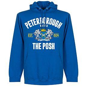 Peterborough Established Hoodie - Royal Blue