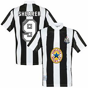 1996 Newcastle United Home Retro Shirt + Shearer 9