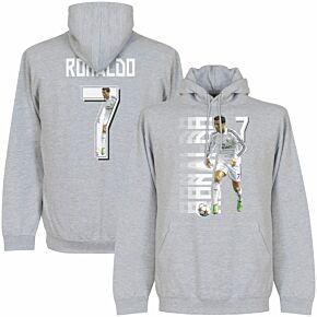 Ronaldo 7 Gallery KIDS Hoodie - Grey