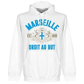 Marseille Established Hoodie - White