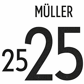 Müller 25 (Official Printing) 20-21 Germany Home