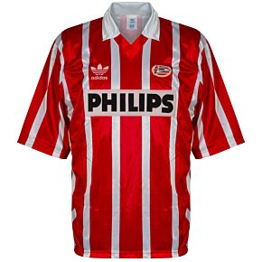 adidas PSV 1992-1994 Home Shirt - USED Condition (Good) - Size XL