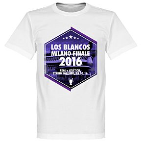2016 Los Blancos Milano Finale Tee - White