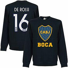 Boca De Rossi 16 CABJ Crest  Sweatshirt - Navy (19-20  Style Back Print)