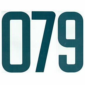 02-04 Nike Back Numbers - Blue