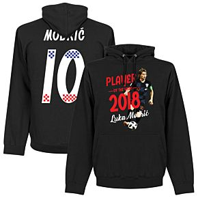 Modric 10 Player of the Year 2018 Hoodie - Black
