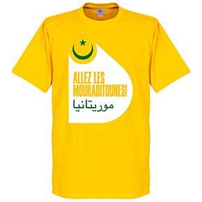 Mauritania Tee - Yellow