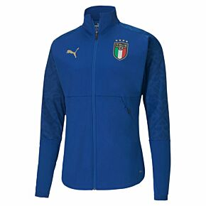 20-21 Italy Stadium Home Jacket - Royal