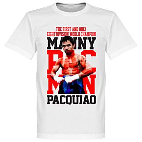 Manny Pacquiao Boxing Legend Tee - White