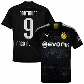 Puma Borussia Dortmund Away Paco Alcacer 9 Jersey2019-2020