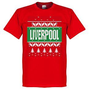 Liverpool Christmas Tee - Red
